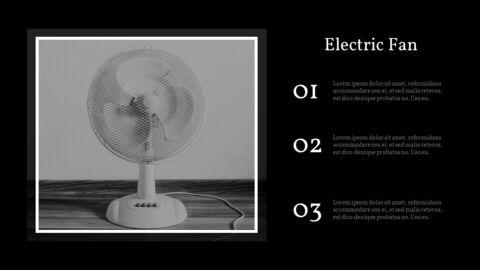 가정용 기기 테마 프레젠테이션 템플릿_37