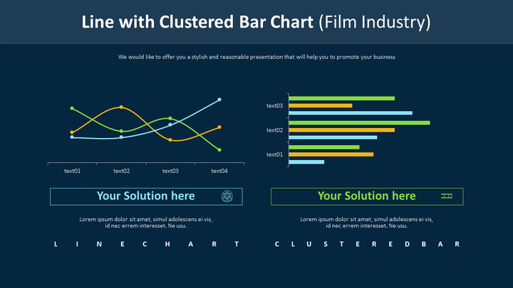 Line with Clustered Bar Chart (Film Industry)_01