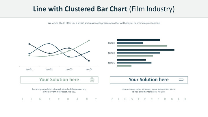 Line with Clustered Bar Chart (Film Industry)_02