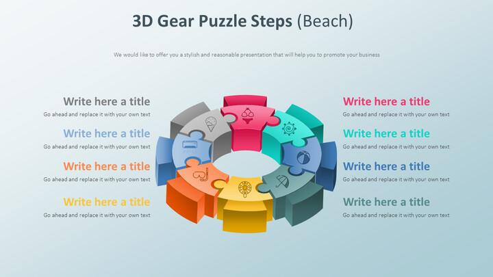 3D 기어 퍼즐 단계 다이어그램 (해변)_01
