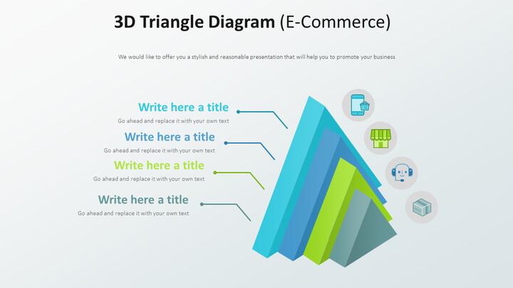3D 삼각형 다이어그램 다이어그램 (전자 상거래)_02