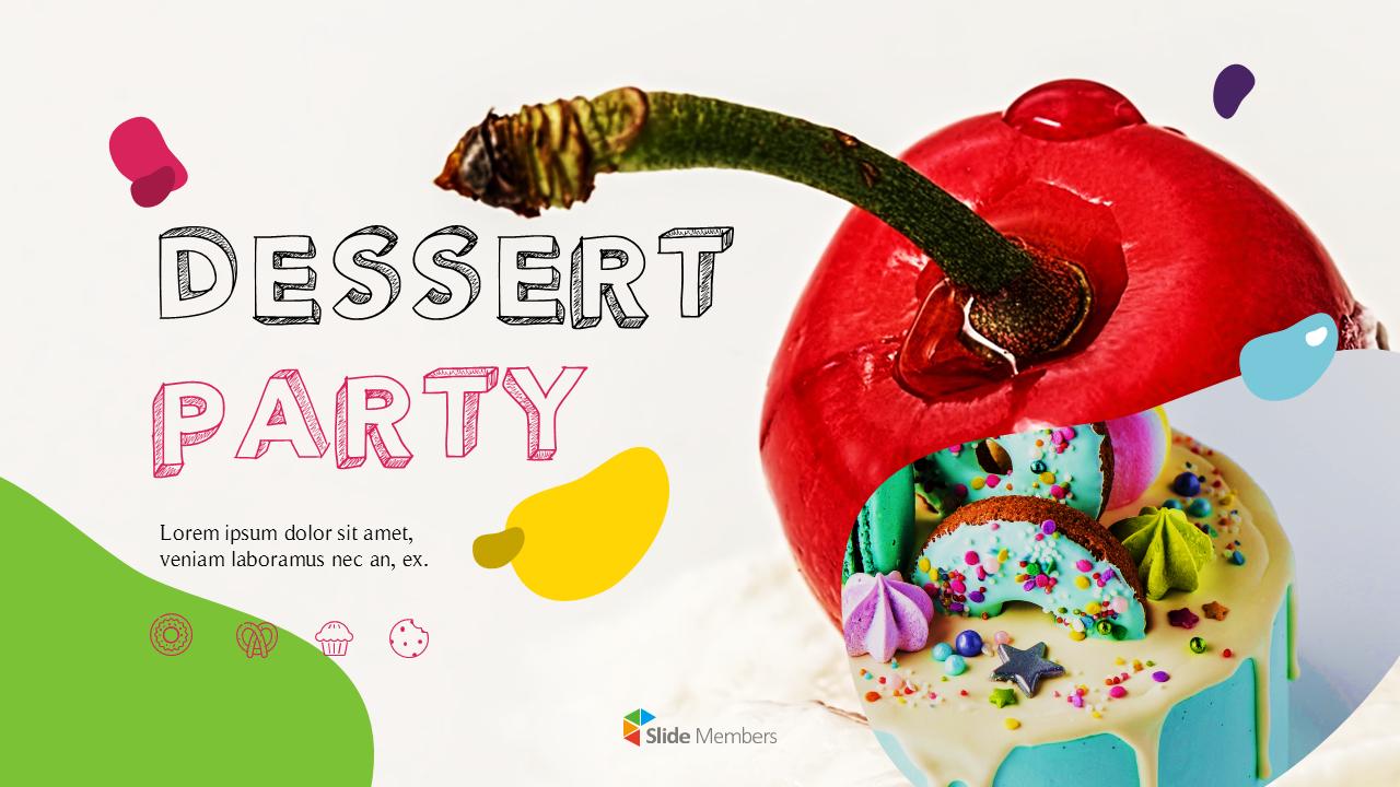 Dessert Theme Ppt Templates