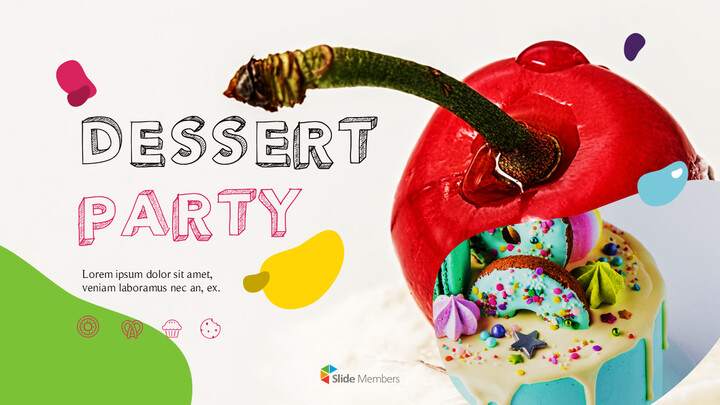 Dessert Theme PPT Templates_01