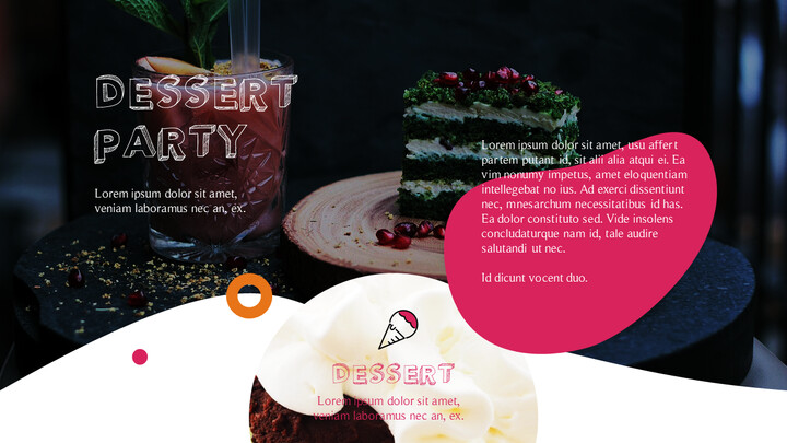 Dessert Theme PPT Templates_02