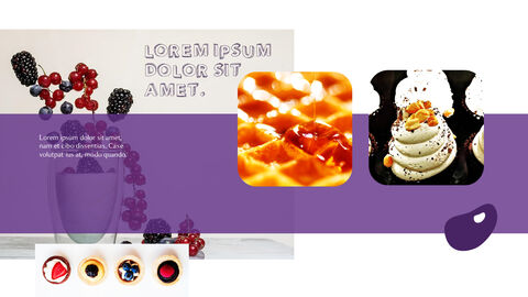Dessert Theme PPT Templates_03