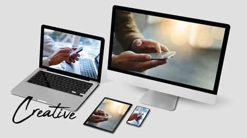 장치 모형 파워포인트 비즈니스 템플릿_04