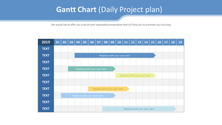 Gantt Chart Diagram (Daily Project plan)_01