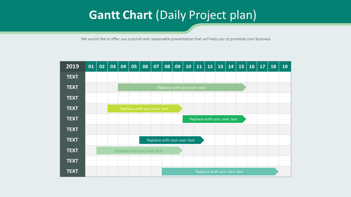 Gantt Chart Diagram (Daily Project plan)_02