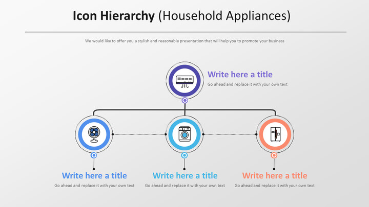 Icon Hierarchy Diagram (Household Appliances)_01