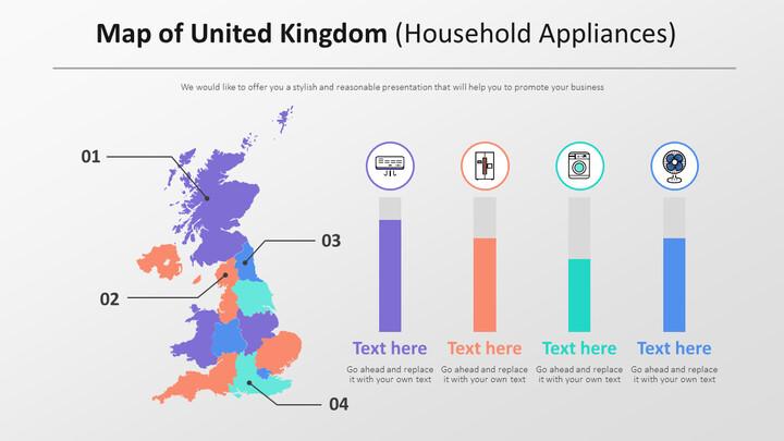 Map of United Kingdom Diagram (Household Appliances)_01