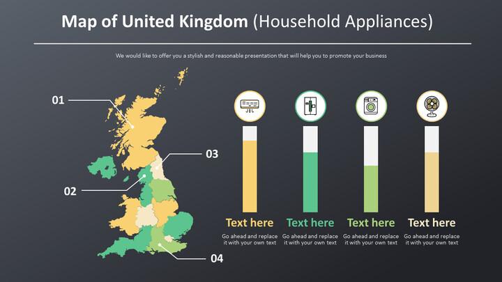 Map of United Kingdom Diagram (Household Appliances)_02