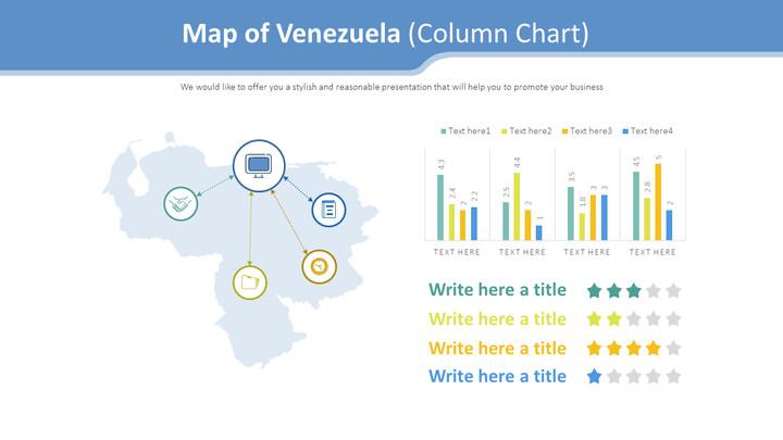 Map of Venezuela Diagram (Column Chart)_01
