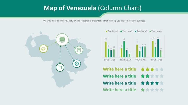 Map of Venezuela Diagram (Column Chart)_02