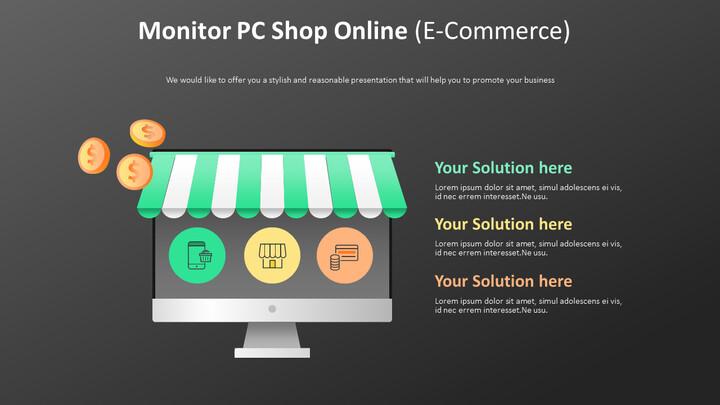 PC Shop 온라인 다이어그램 모니터링 (전자 상거래)_01