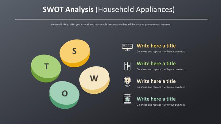 SWOT Analysis Diagram (Household Appliances)_02