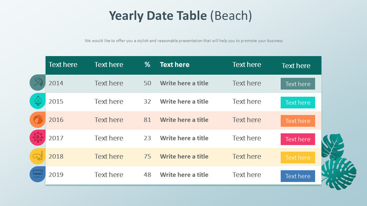 Yearly Date Table Diagram (Beach)_01