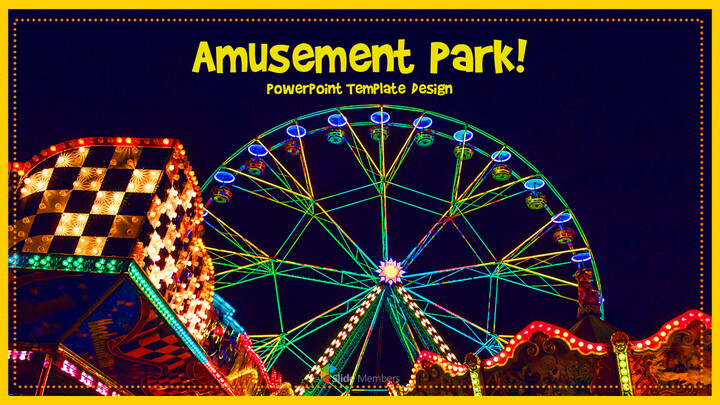 Amusement Park PPT Templates Design_01