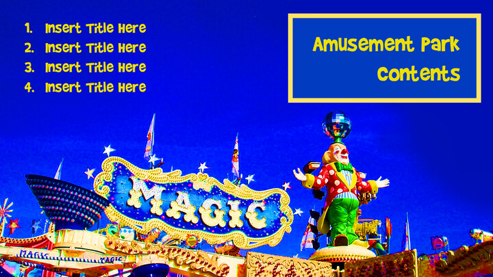 Amusement Park PPT Templates Design_02