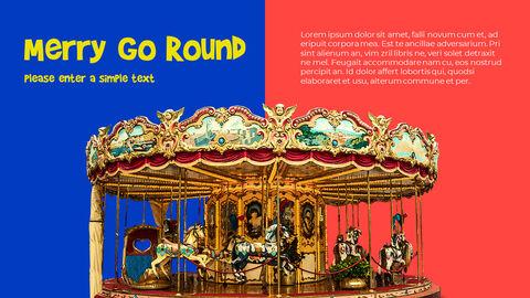 놀이 공원 피피티 템플릿 디자인_05
