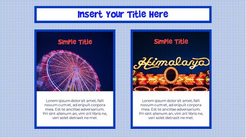 Amusement Park PPT Templates Design_04