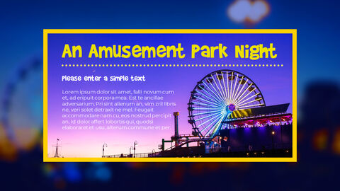 Amusement Park PPT Templates Design_05