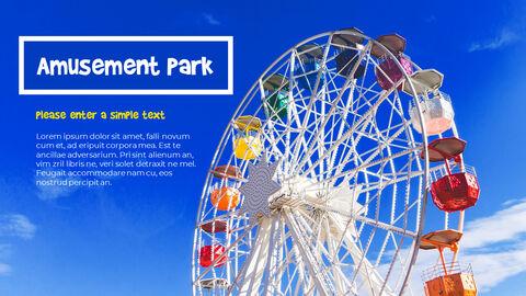 놀이 공원 피피티 템플릿 디자인_16