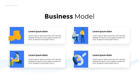 Business Illustration Pitch Business PPT_04