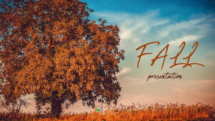 가을 테마 PPT 템플릿_01