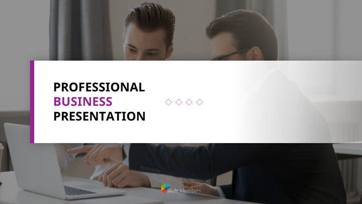 Professional Business Marketing Presentation PPT_01