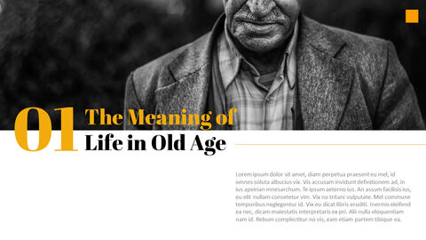 The Meaning of Life in Old Age Best PowerPoint Templates_02