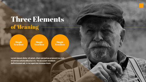 The Meaning of Life in Old Age Best PowerPoint Templates_03