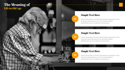 The Meaning of Life in Old Age Best PowerPoint Templates_04