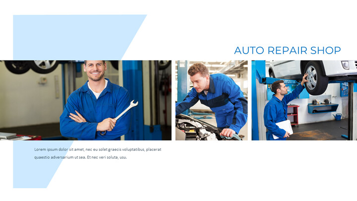 Auto Repair Shop PowerPoint Design Download_02