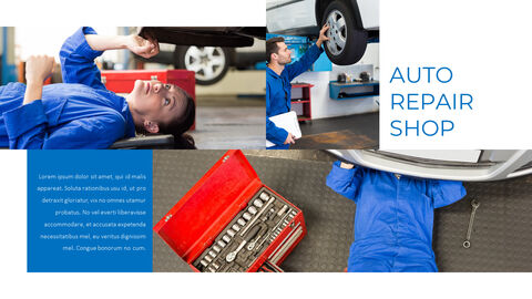 Auto Repair Shop PowerPoint Design Download_04