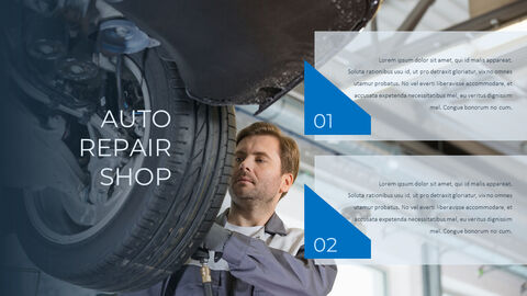 Auto Repair Shop PowerPoint Design Download_05