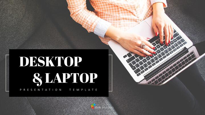 데스크탑 및 노트북 PowerPoint 프레젠테이션 템플릿_01