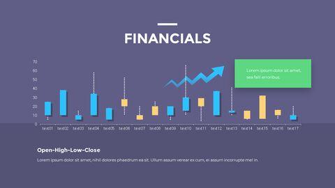 금융 비즈니스 크리에이티브 보고서 피피티 템플릿 디자인_11