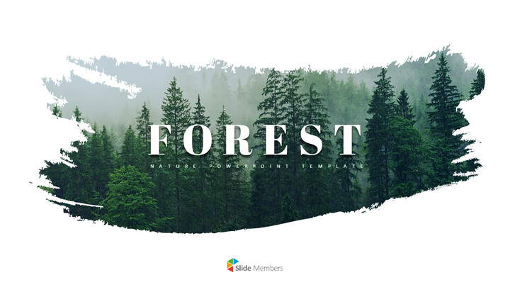 Forest PowerPoint Templates Multipurpose Design_01