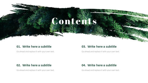 Forest PowerPoint Templates Multipurpose Design_04
