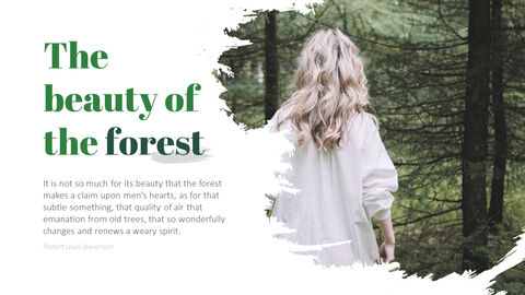 Forest PowerPoint Templates Multipurpose Design_05