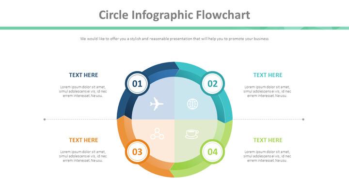 Circle Infographic Flowchart Diagram_01
