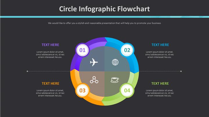 Circle Infographic Flowchart Diagram_02