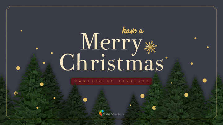 Merry Christmas PowerPoint Templates for Presentation_01