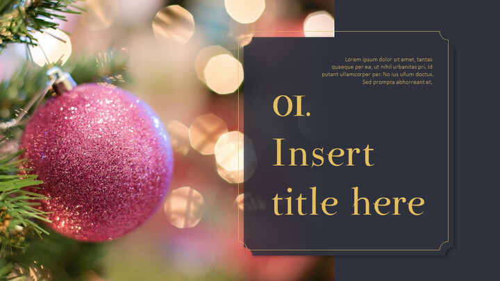Merry Christmas PowerPoint Templates for Presentation_02