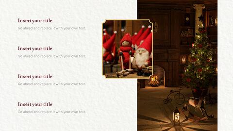 메리 크리스마스 프레젠테이션용 PowerPoint 템플릿_06