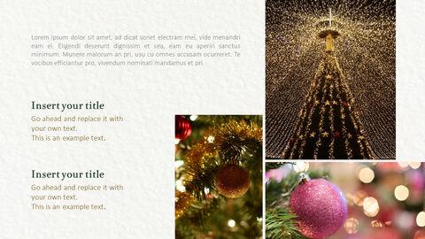메리 크리스마스 프레젠테이션용 PowerPoint 템플릿_08