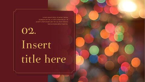 메리 크리스마스 프레젠테이션용 PowerPoint 템플릿_09