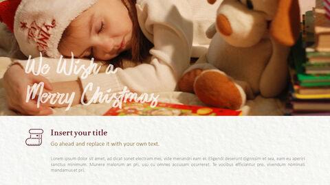 메리 크리스마스 프레젠테이션용 PowerPoint 템플릿_13