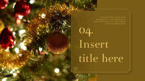 메리 크리스마스 프레젠테이션용 PowerPoint 템플릿_26