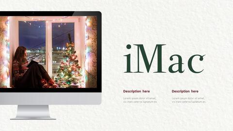 메리 크리스마스 프레젠테이션용 PowerPoint 템플릿_28